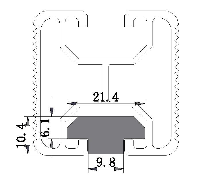 MK-4040 Rail NUT
